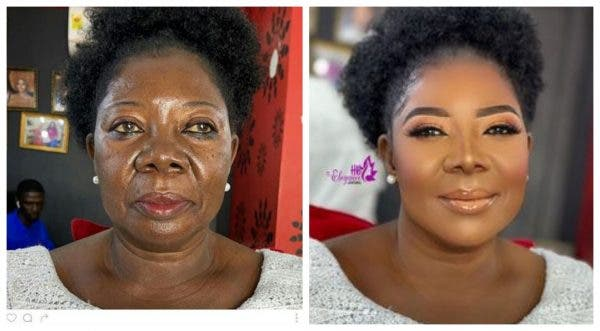 Photos: See The Shocking Makeup Transformation Of A 75-Year-Old Woman