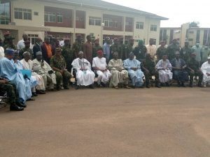 Senate President Visits Wounded Soldiers, Donates N10m
