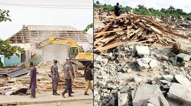 FG Demolishes 12 Churches In Lagos