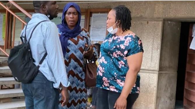 Igboho's wife, Monarchs Arrive Beninise Court As Sitting Resumes