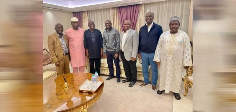 Some Nigerian senators visits Tinubu in London