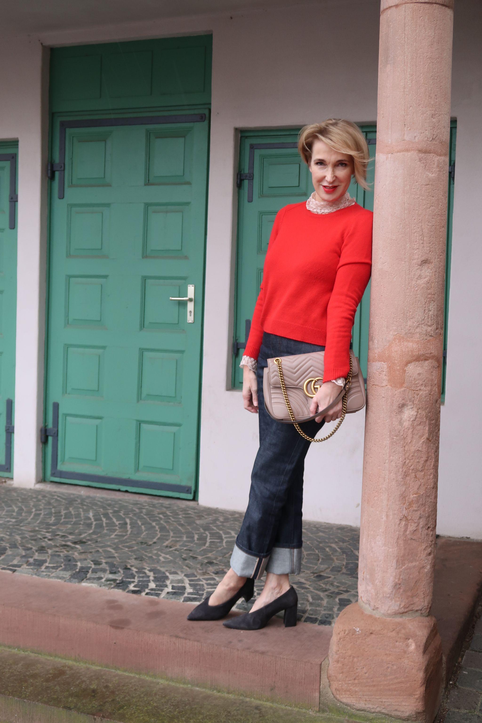 glamupyourlifestyle kaschmir-Pullover winter-Blue Pumps ue40-Blog ue40-Mode fashionblog