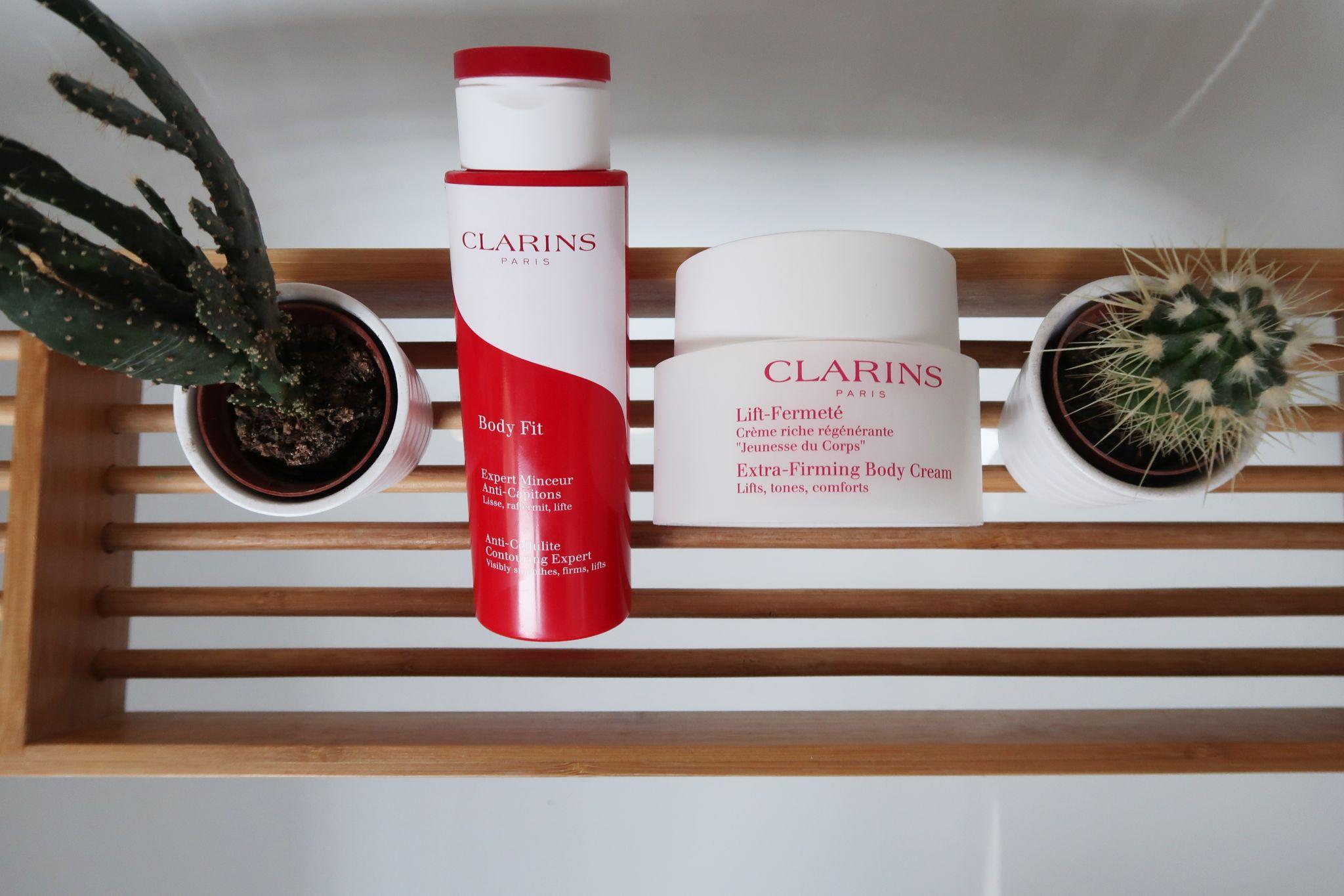 glamupyourlifestyle selbstbrauner konzentrat clarins bodycream body-fit gesundes-braunen ue40-blog ue50-mode