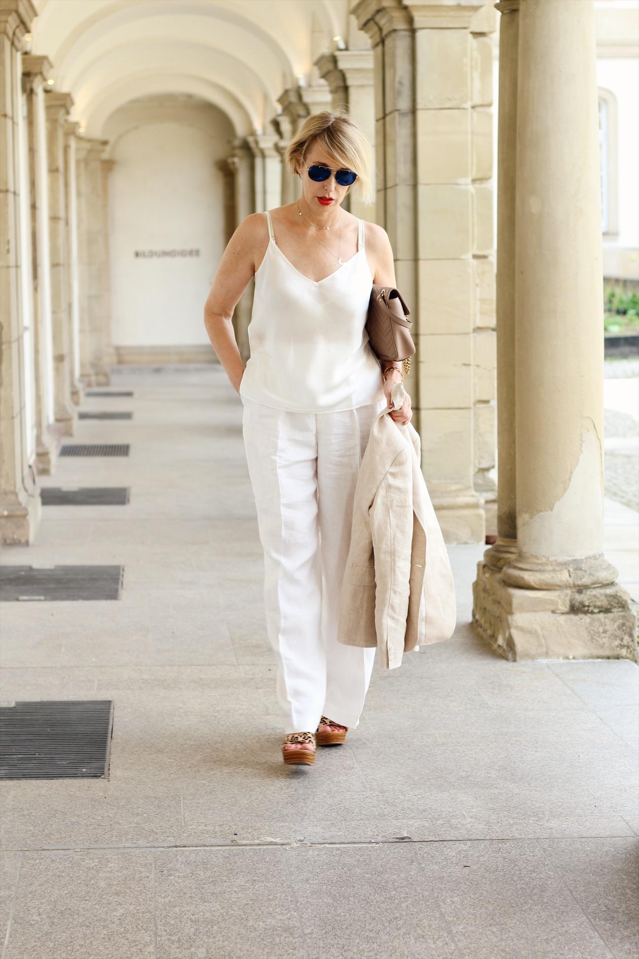 glamupyourlifestyle leinenanzug leinenhose ue-40-blog ue-50-blog ü-40-mode ü-40-blog sommeranzug hosenanzug-damen
