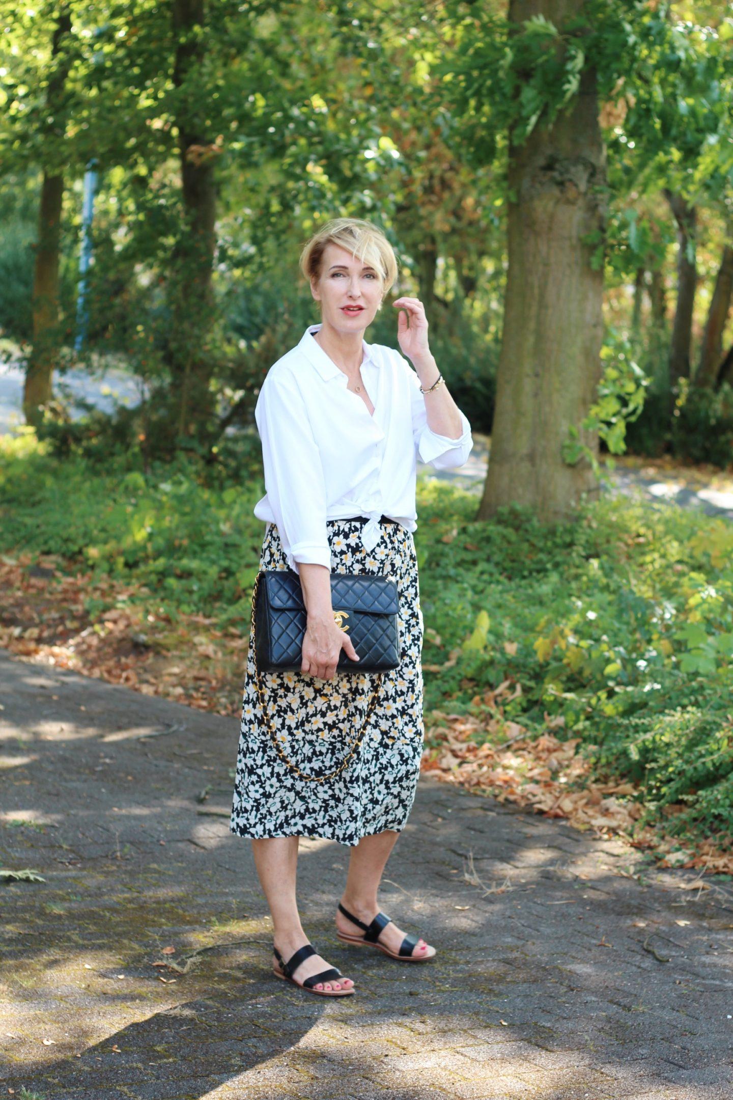 glamupyourlifestyle vintage vintage-klassiker ladybloggers modeflüsterin ü-40-blog ue-40-blog chanel-vintage-tasche