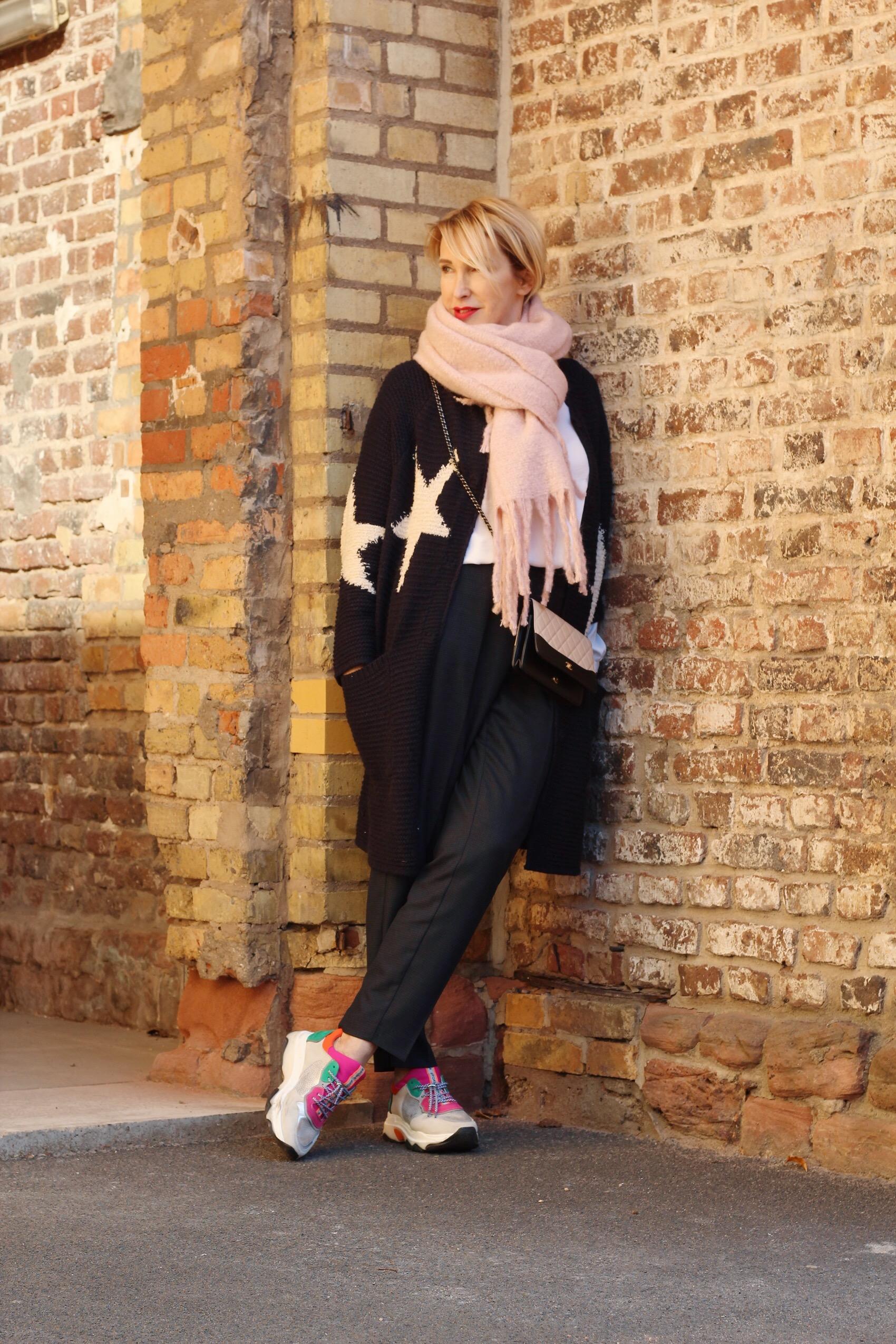 glamupyourlifestyle Bonita-Winterkollektion Cardigan lange-Strickjacke Franziska-knuppe ü-40-blog ue-50-blog