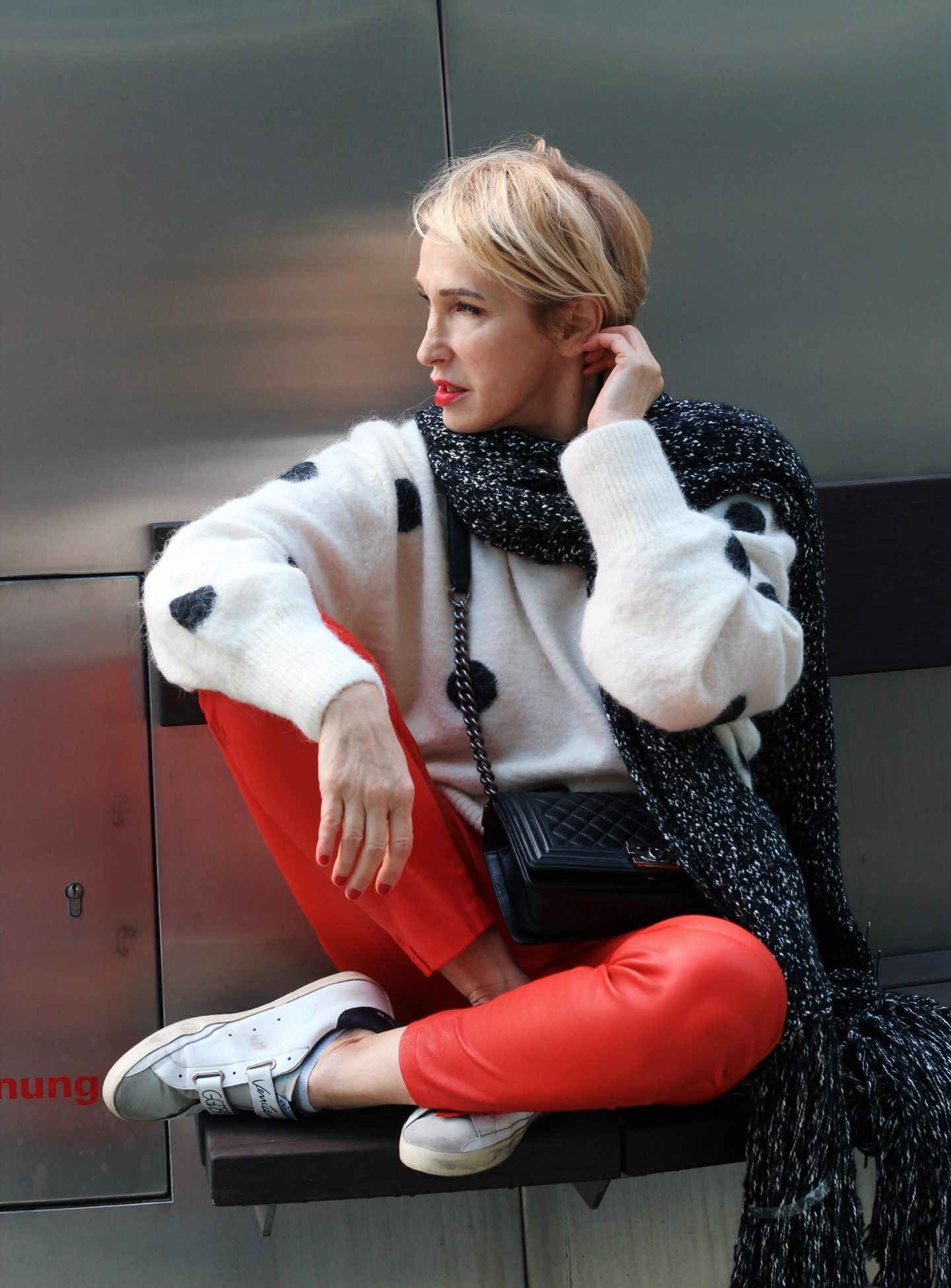 glamupyourlifestyle schal Herbst-Outfit wetterfeste-Kleidung ü-40-blog ü-50-blog ue-40-mode ue-50-blog