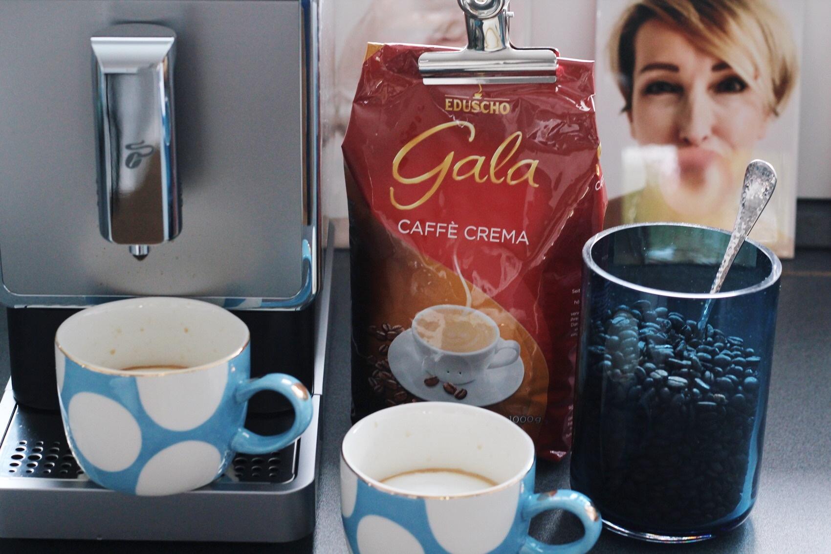 glamupyourlifestyle Kaffeevollautomat tchibo Gala eduscho Caffe Crema ue-50 blog ü40