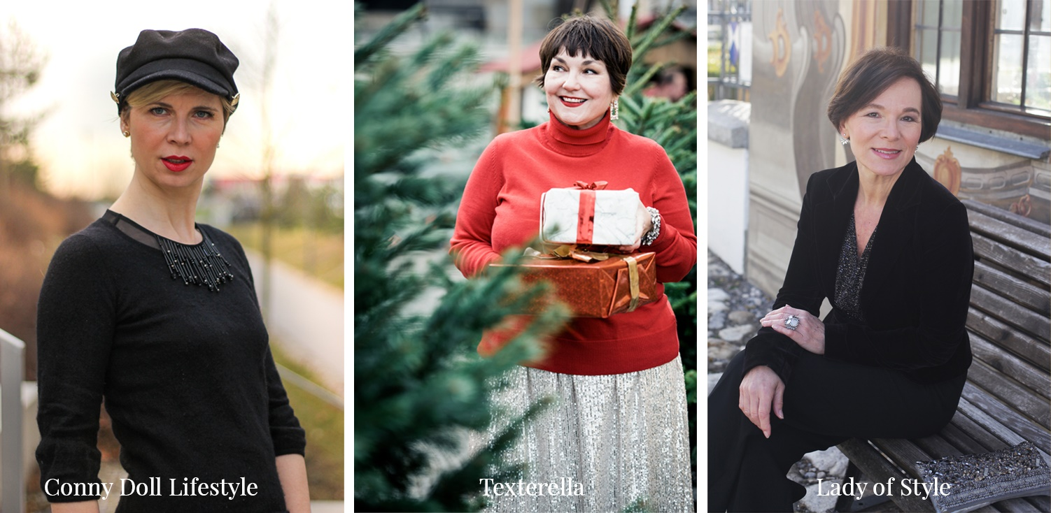 Weihnachtslooks ConnyDollLifestyle LadyofStyle Texterella glamupyourlifestyle Weihnachtsfeier