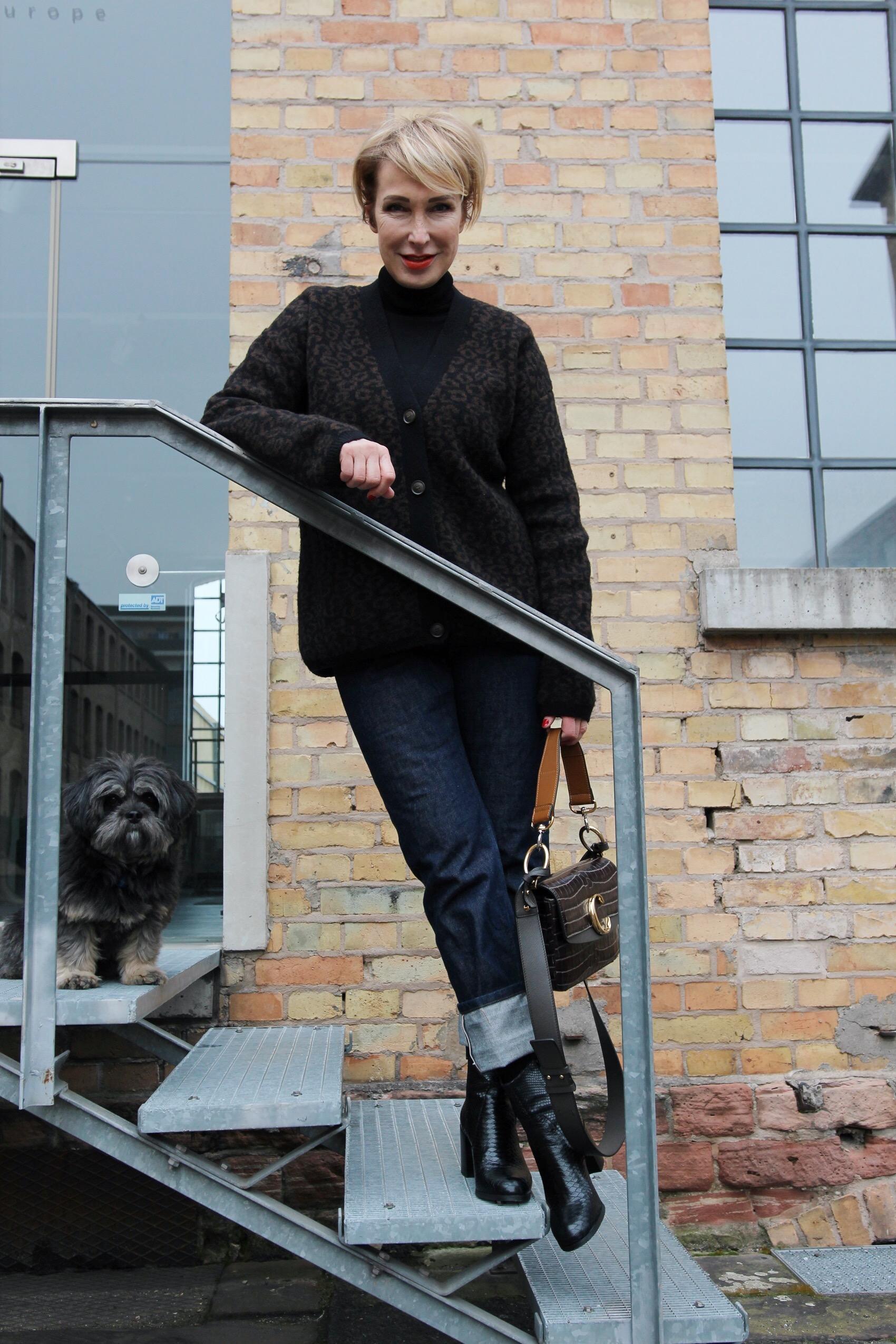 Glamupyourlifestyle rollkragenpullover Cardigan ue-40-blog ue-50-blog Modeblog-ue40
