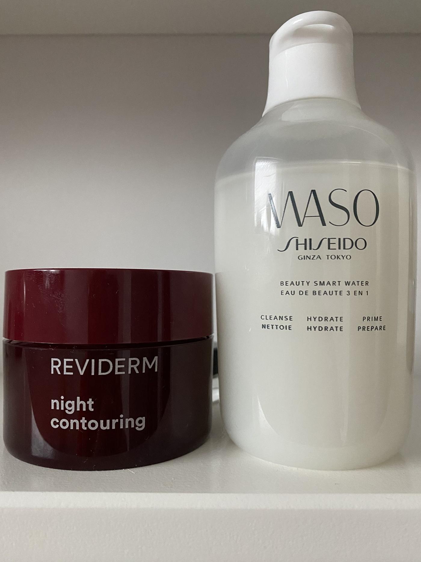 glamupyourlifestyle Koerpercreme O'keeffee's Skin Repair Apricot Pads Decollete Reviderm Nachtcreme Shiseido Smart Water Wasa