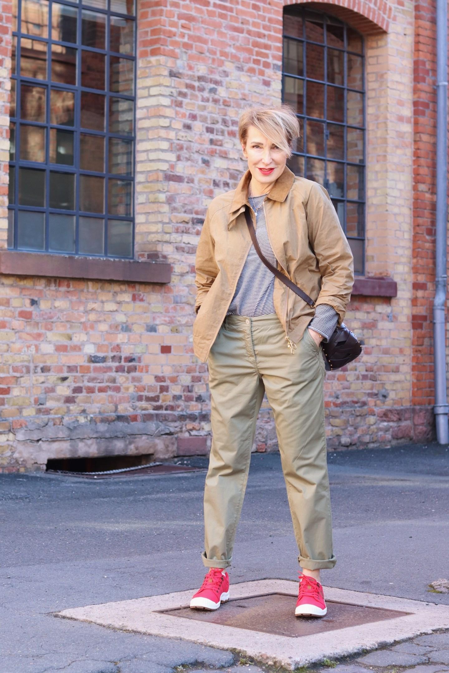 glamupyourlifestyle ringelshirt very-british ue-40-blog ue-50-blog Chino-Hose