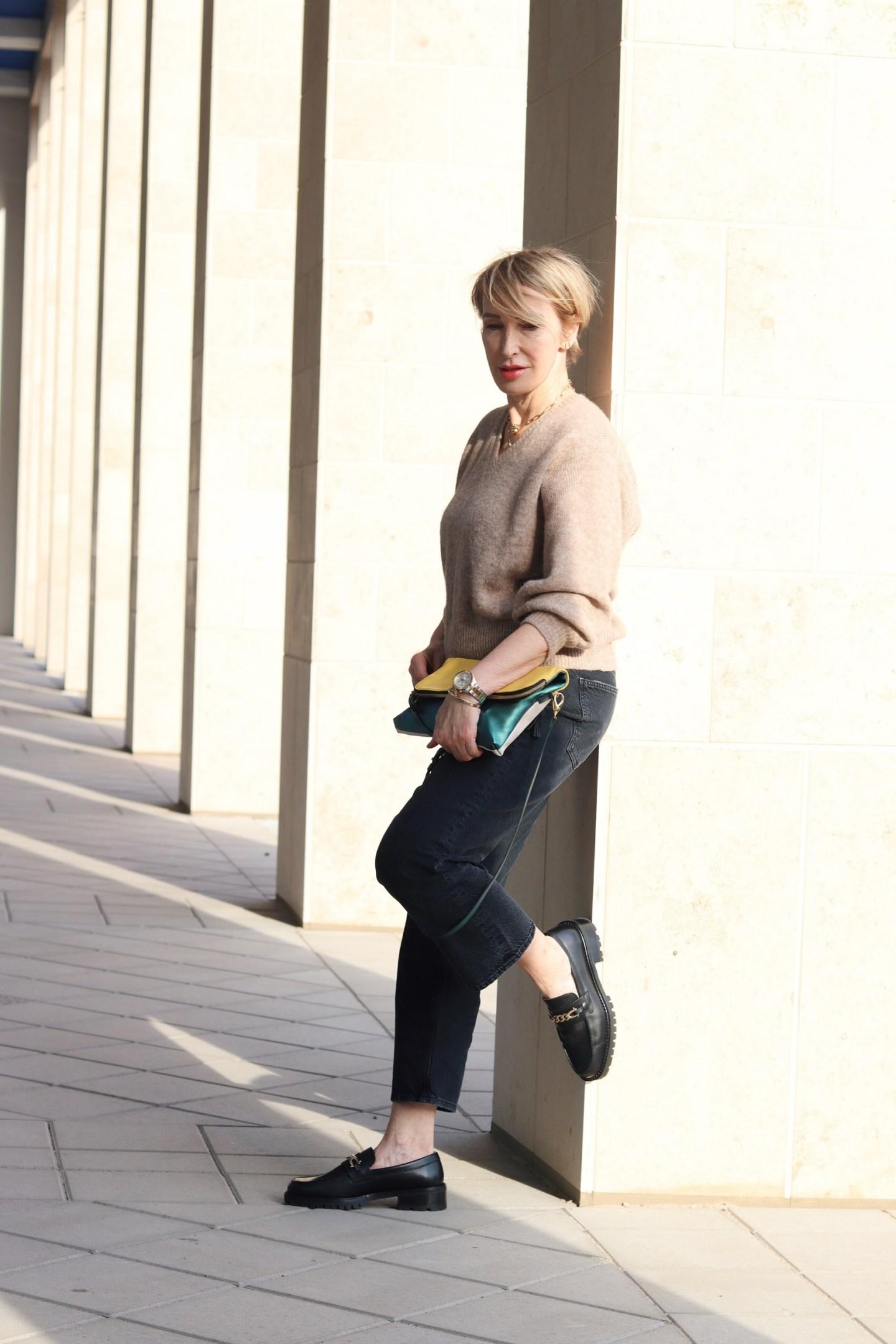 Loafers Schuhtrend - der perfekte Schuh für den Frühling bei Glamupyourlifesyle Ü40 Ü50 Blog