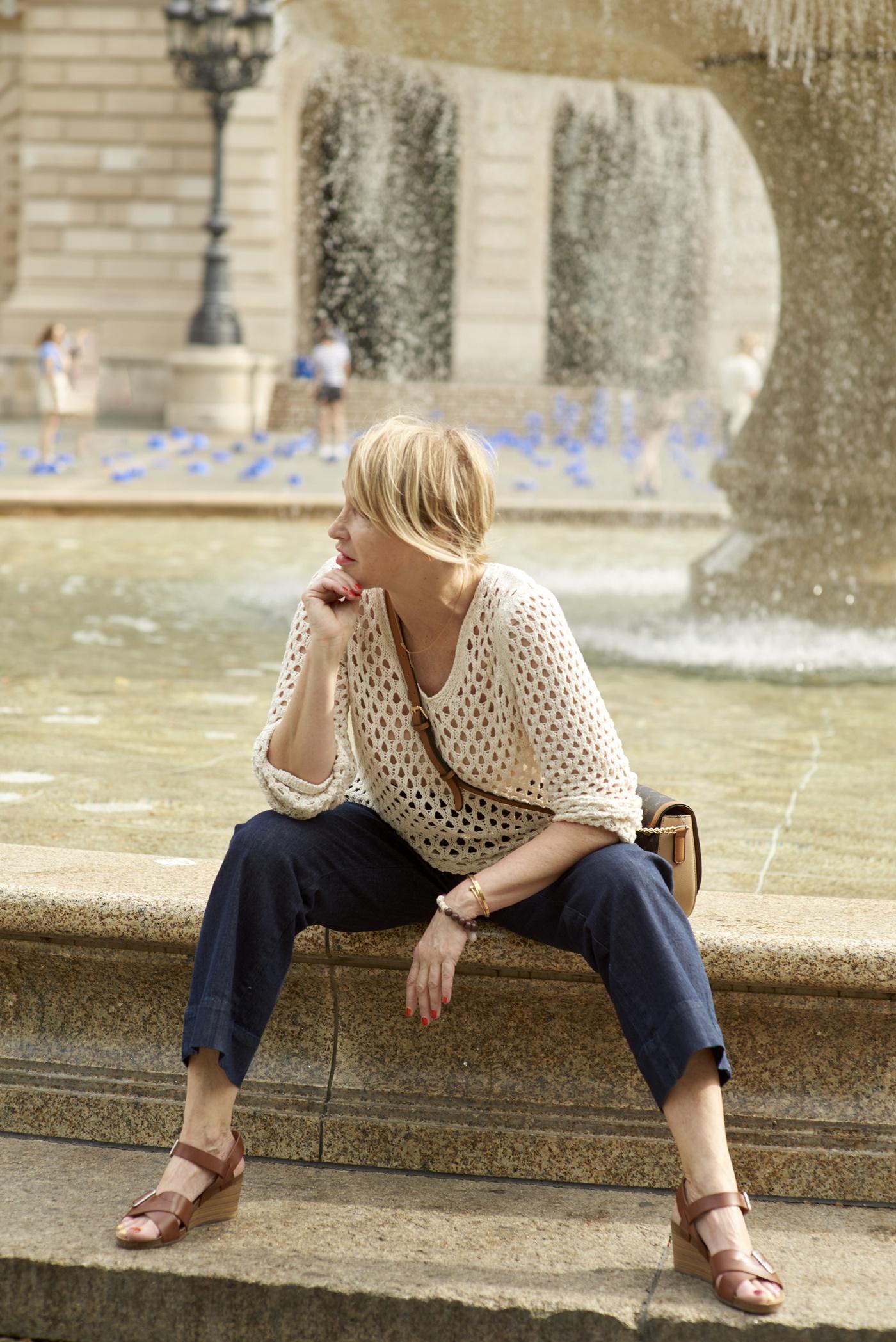 glamupyourlifestyle Business-Outfit Sommerkleidung-buero ue-40-mode ue-50-mode Peter-Hahn