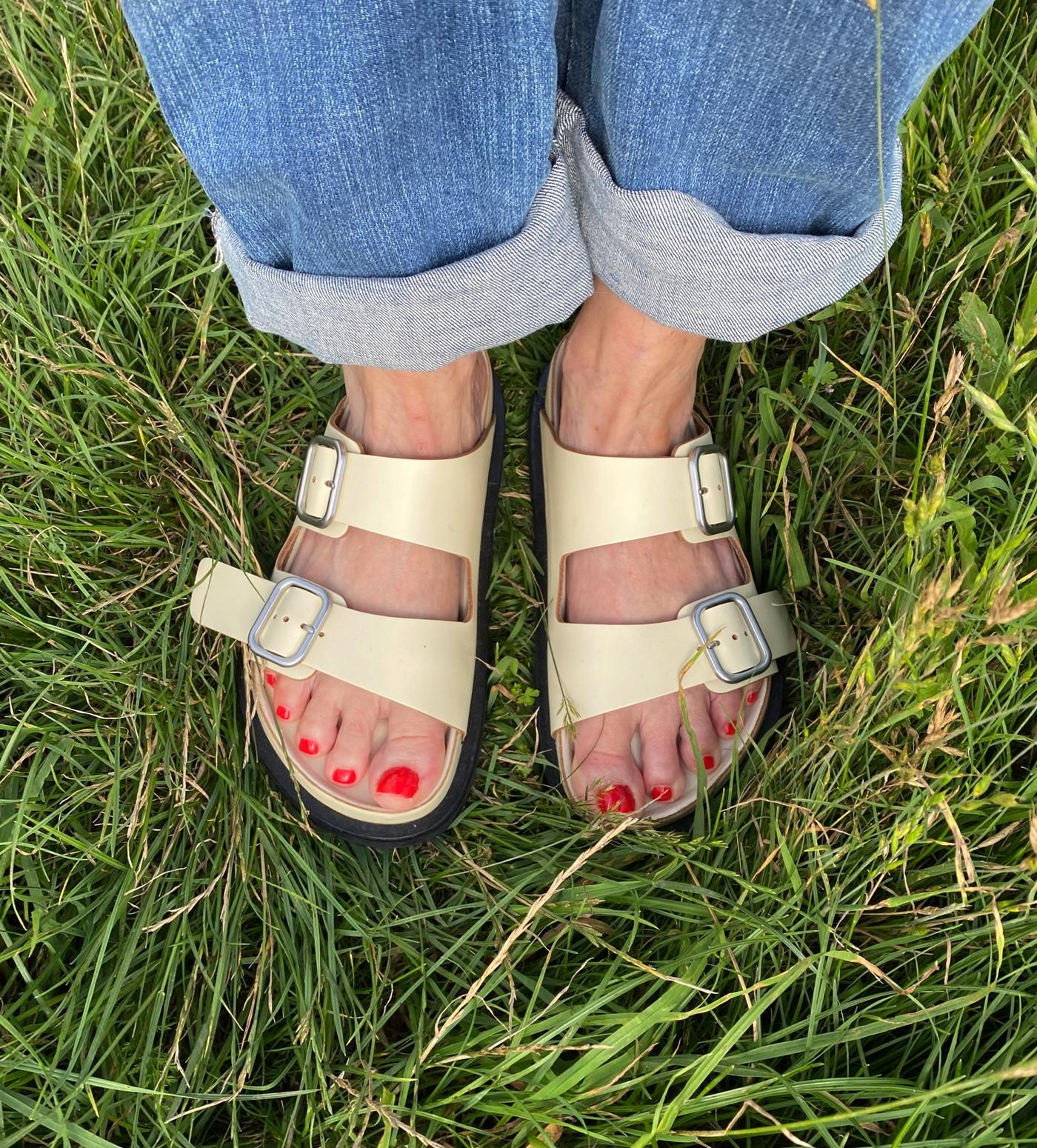glamupyourlifestyle Birkenstock-Sandalen Jil-Sander ue-50-blog bequeme-Schuhe