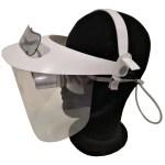 GL002 Visiera protettiva con schermo rigido per occhiali prismatici