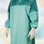 GLCAM CH CCPRCOV Camice chirurgico TTR High Performance dispositivo medico di classe I riutilizzabile 80 volte - colore verde