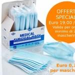 GL004/5 Mascherina chirurgica ad alta traspirabilità - confezione da 5 scatole/250 mascherine