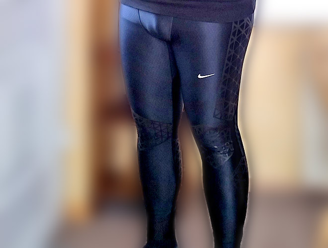 Outing in meiner Familie mit Nike Swift Tights