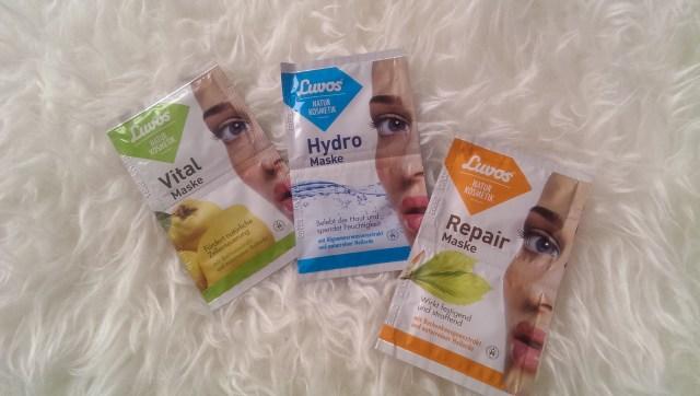Luvos Heilerde Vital Maske Hydro Maske Repair Maske