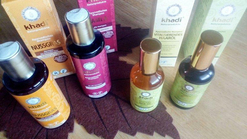 Brand Review: Khadi Shampoos und Haaröl / Kopfhautöl