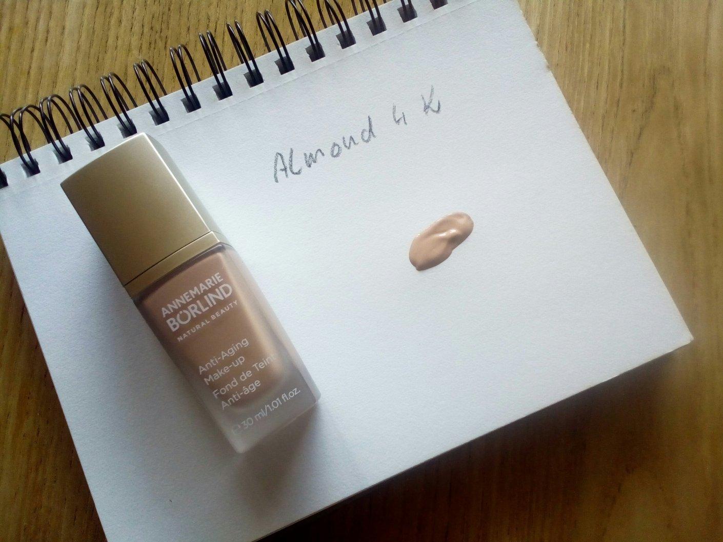 Annemarie Börlind Anti-Aging-Make-up in Almond 04 K