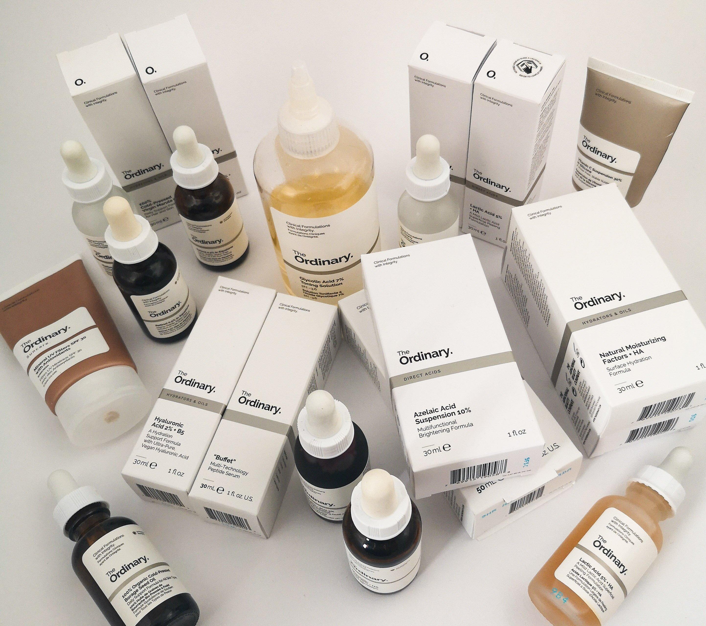 The Ordinary Skincare für trockene Gesichtshaut