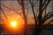 Sunrise at Beauport. (Beauport, Canada, janvier 2005.)