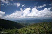 Ascension du Mt Adams. (New Hampshire, USA, août 2009)