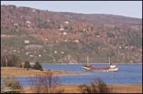 L'Accalmie, relocalisée. (Baie-St-Paul, Québec, octobre 2009)