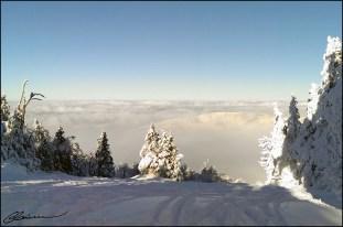 Mont SUTTON, dans les nuages! (Sutton, Québec, décembre 2014)