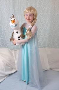 Et pour compléter la thématique... le costume d'Halloween, gracieuseté des doigts de la Fée Lys, Sophie Martel.
