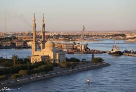 Une des mosquées de Suez.