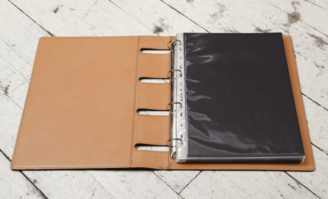 Hand-grained,-hand-colored-expresso-Presentation-Binder.3