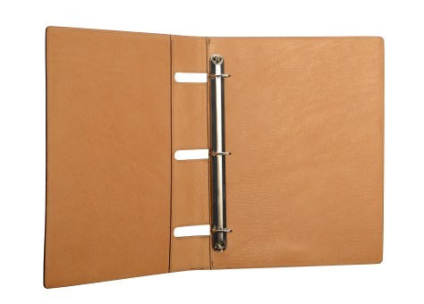 Natural-all-leather-3-ring-Presentation-Binder.2