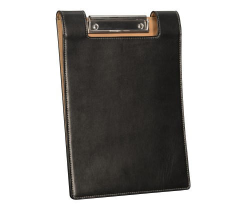 Leather-surface-Writing-Clipboard-with-black-and-natural-leather