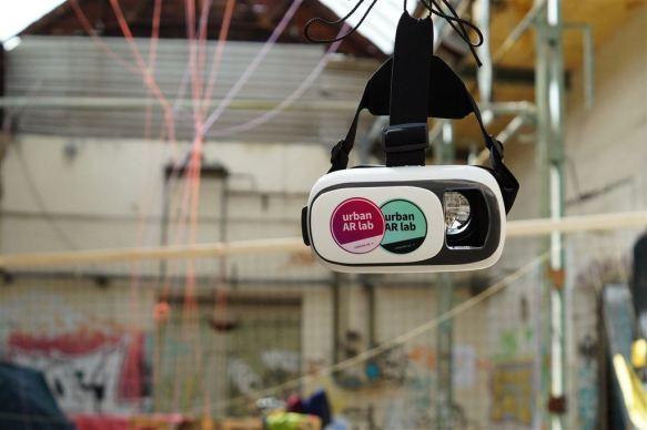 "Festival STADTTFINDEN - Projekt ""Urban AR Lab"" (Foto (c) Josephine Bock)"