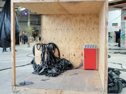 "Festival STADTTFINDEN - Projekt ""Feed Back"" (Foto (c) Michél Bötig)"