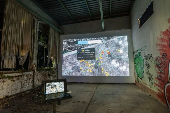 """Festival STADTTFINDEN - Projekt """"Subjektive Transformationsatlas"""" (Foto (c) Manuel Emmelmann)"""