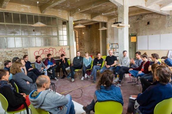 Festival STADTTFINDEN - Kick-Off-Workshop LAB-Projekte (Foto (c) Manuel Emmelmann)