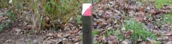 orienteering post Displays a larger version of this image in a new browser window