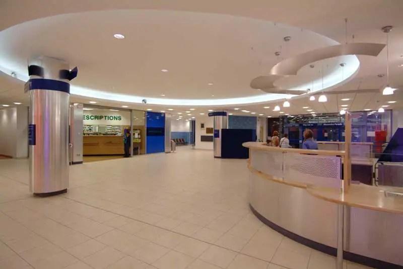 Glasgow Royal Infirmary Gri Building Icu Glasgow
