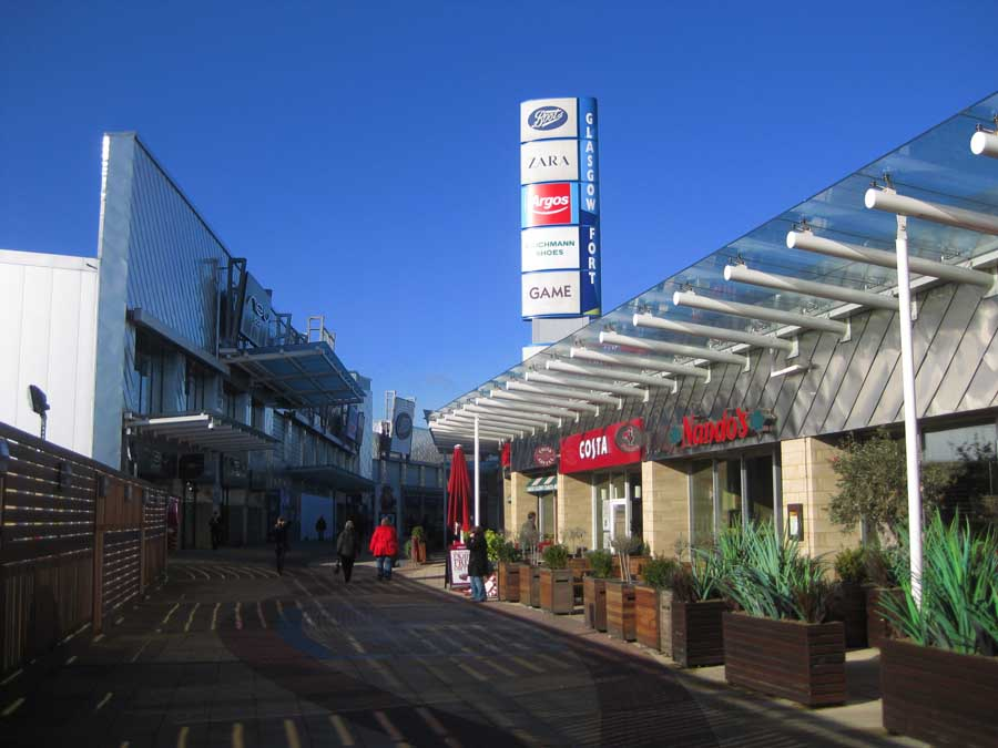 forge shopping centre glasgow glasgow architecture. Black Bedroom Furniture Sets. Home Design Ideas