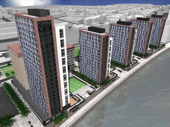 Glasgow Harbour Phase 2 : Apartments - glasgowarchitecture