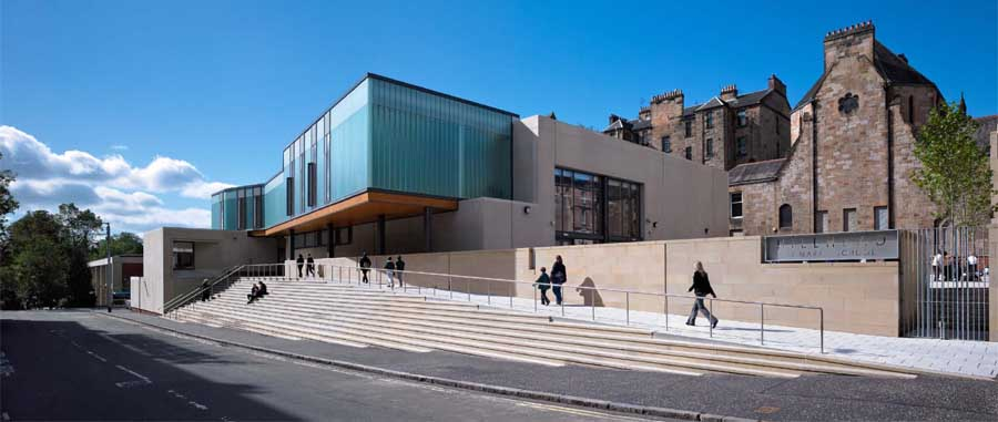 Glasgow schools education buildings strathclyde for J j school of architecture