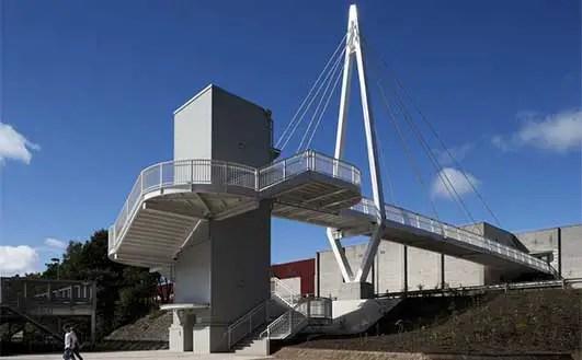 Central Way Link Bridge Cumbernauld