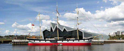 Riverside Museum Building Glasgow