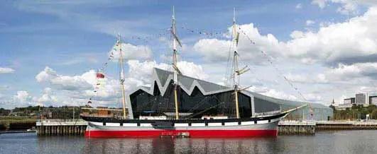 Riverside Museum Building Glasgow