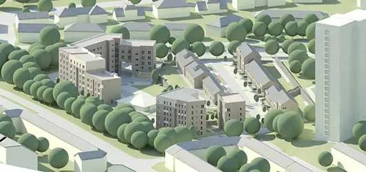 Kingsway Regeneration Project Glasgow