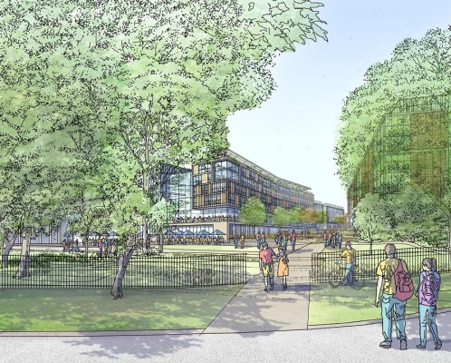 Kelvingrove Glasgow University expansion